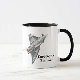 Eurofighter Typhoon with monogram Mug
