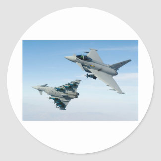 EUROFIGHTERS CLASSIC ROUND STICKER