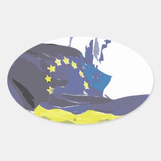 Euromaidan Pray 4 Ukraine Freedom Sticker