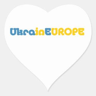 Euromaidan Pray for Ukraine Freedom Heart Sticker