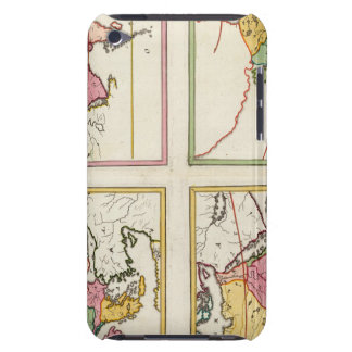 Europa, Asia, Africa, America iPod Touch Cover