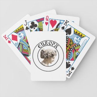 Europa: Be Proud to Show your Euro Roots! Poker Deck
