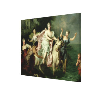 Europa Being Carried off by Jupiter Canvas Print