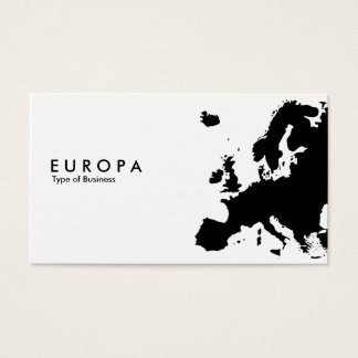 EUROPA BUSINESS CARD