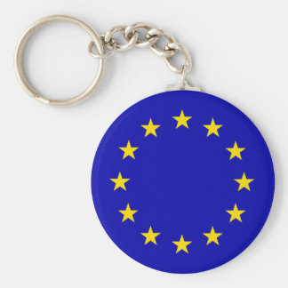 Europa Flag Key Ring