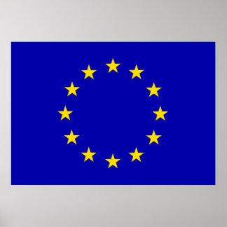 Europa Flag Print
