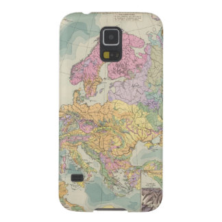 Europa - Geologic Map of Europe Galaxy S5 Cases