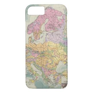 Europa - Geologic Map of Europe iPhone 8/7 Case