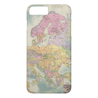Europa - Geologic Map of Europe iPhone 8 Plus/7 Plus Case