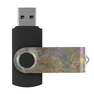 Europa - Geologic Map of Europe USB Flash Drive