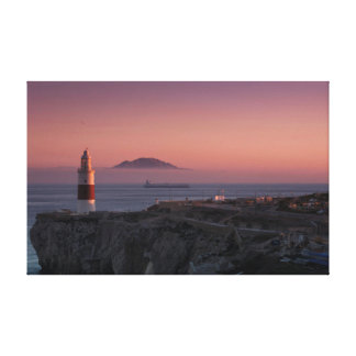 Europa Point Sunset Canvas Print