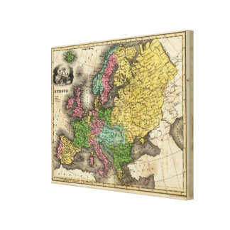 Europe 11 canvas print
