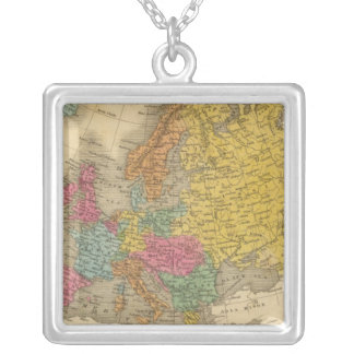 Europe 11 silver plated necklace