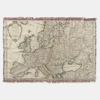Europe 11 throw blanket