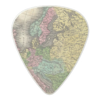Europe 12 2 acetal guitar pick