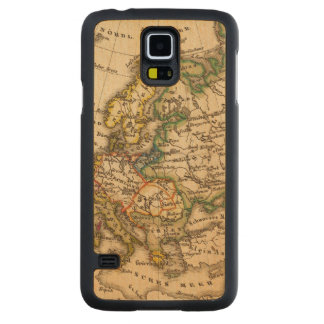 Europe 12 2 carved maple galaxy s5 case
