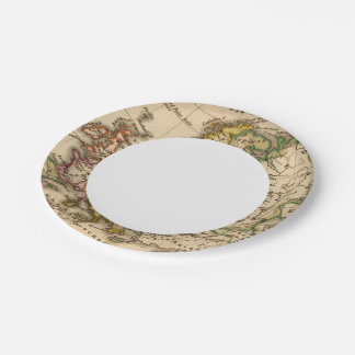 Europe 12 2 paper plate