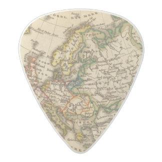 Europe 12 acetal guitar pick