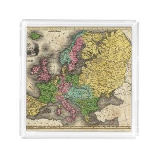 Europe 12 acrylic tray