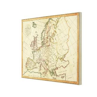 Europe 12 canvas print