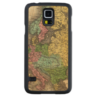 Europe 12 carved maple galaxy s5 case