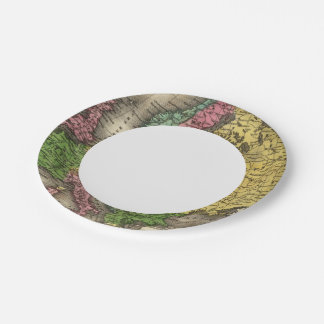 Europe 12 paper plate