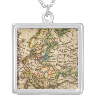 Europe 12 silver plated necklace