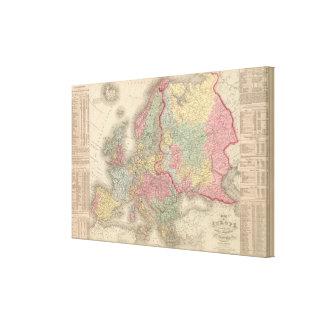 Europe 13 canvas print