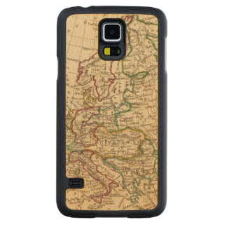 Europe 13 carved maple galaxy s5 case