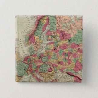 Europe 15 15 cm square badge
