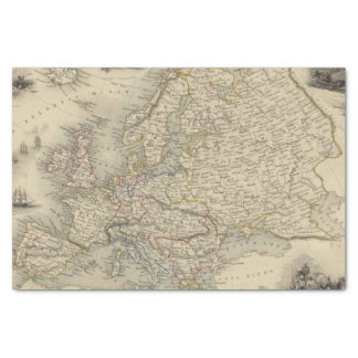 Europe 15 tissue paper