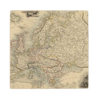 Europe 15 wood coaster