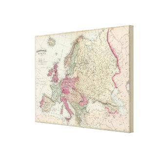 Europe 17 canvas print
