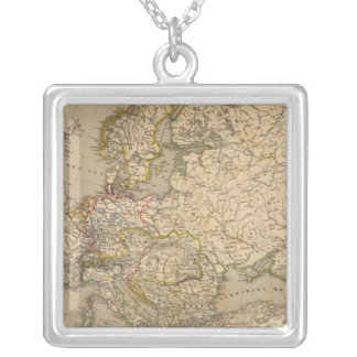 Europe 17 silver plated necklace