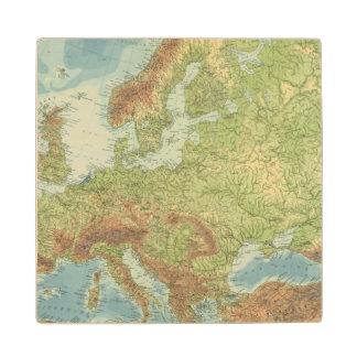 Europe 18 2 wood coaster