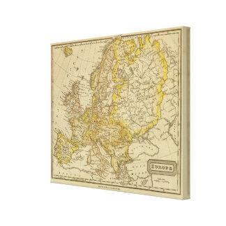 Europe 18 canvas print