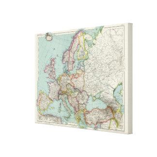 Europe 19 canvas print