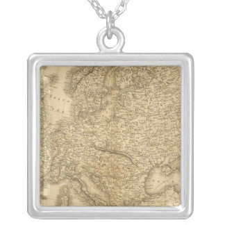 Europe 19 silver plated necklace