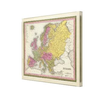 Europe 20 canvas print