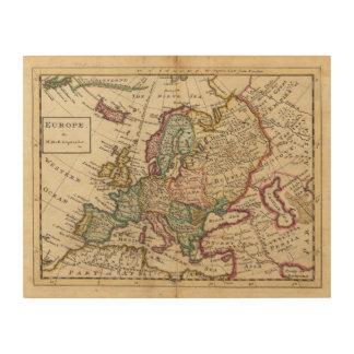 Europe 20 wood canvas