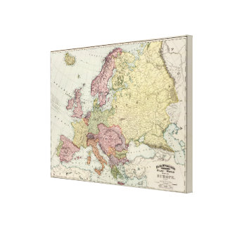 Europe 21 canvas print