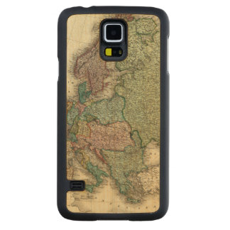 Europe 21 carved maple galaxy s5 case
