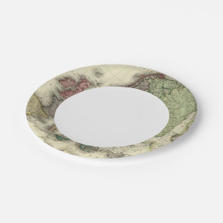 Europe 21 paper plate