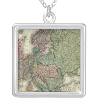 Europe 21 silver plated necklace
