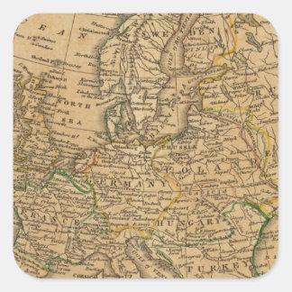 Europe 22 square sticker