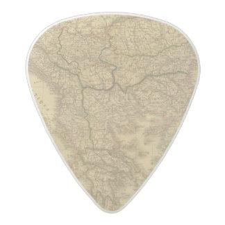Europe 23 acetal guitar pick