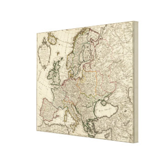 Europe 27 canvas print