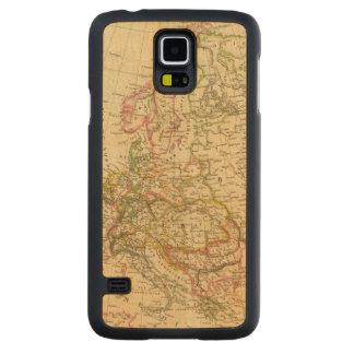 Europe 27 carved maple galaxy s5 case