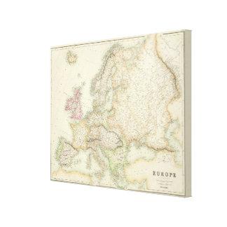 Europe 28 canvas print