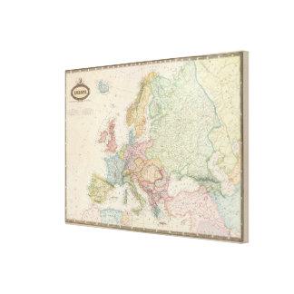 Europe 2 canvas print